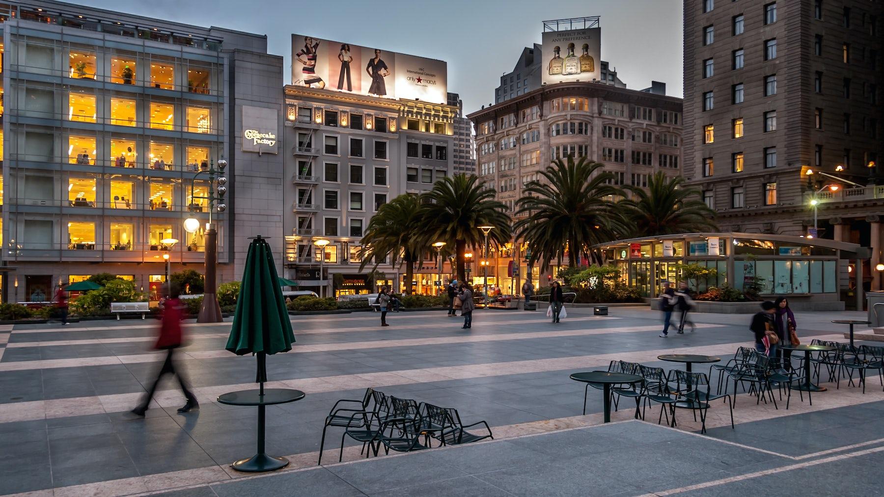 Union Square, San Francisco | Source: Shutterstock