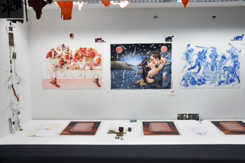 Christoph Chemin's exhibition at the 032c workshop   Source: 032c