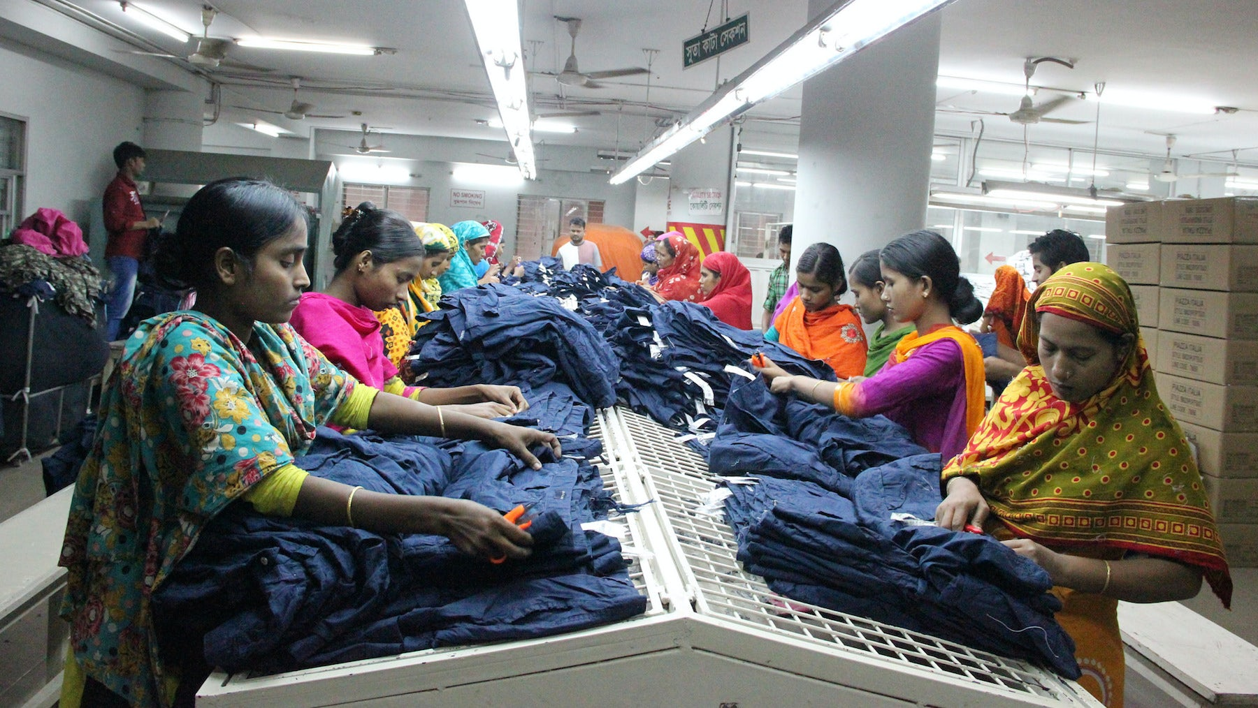 Apparel Factory in Dhaka | Source: Flickr/NYU Stern BHR