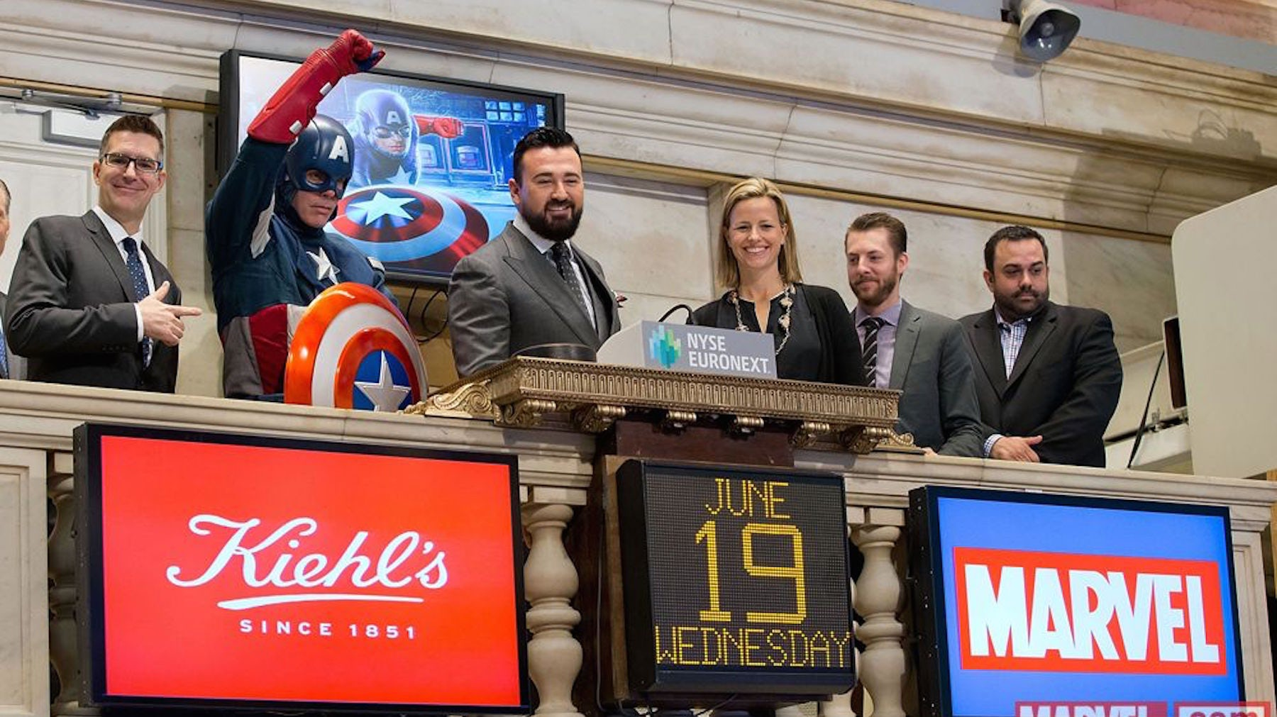 Kiehl's partner's with Marvel's Captain America for an advertising campaign | Source: Kiehl's