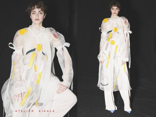 Atelier Kikala designs from Georgia AW16-17 | Source: Courtesy