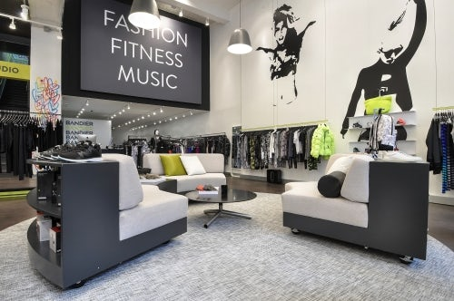 Inside Bandier's 5th avenue store | Source: Bandier