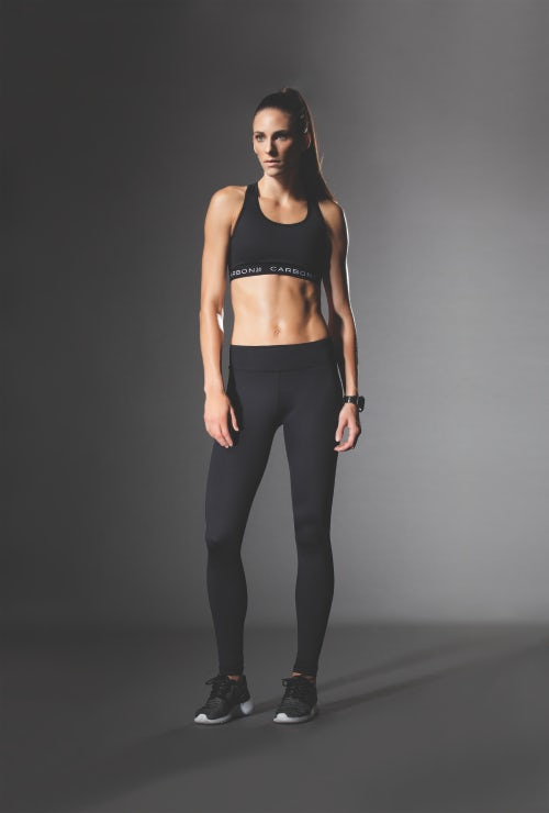 Carbon 38's ports bra and leggings | Source: Carbon 38