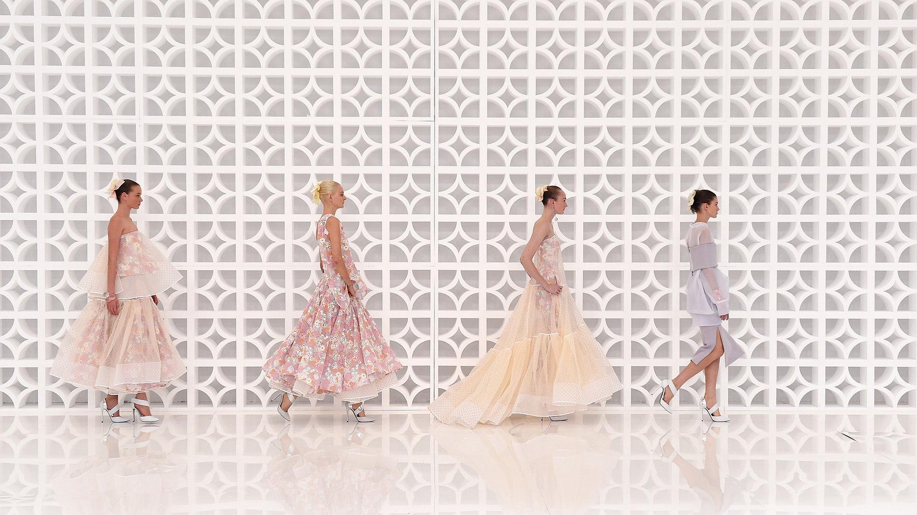 Maticevski show at Mercedes Benz Fashion Week Australia Spring/Summer 2015 | Source: Courtesy
