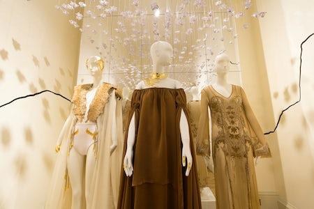 The Egypt pavilion at the International Fashion Showcase | Photo: Agnese Sanvito