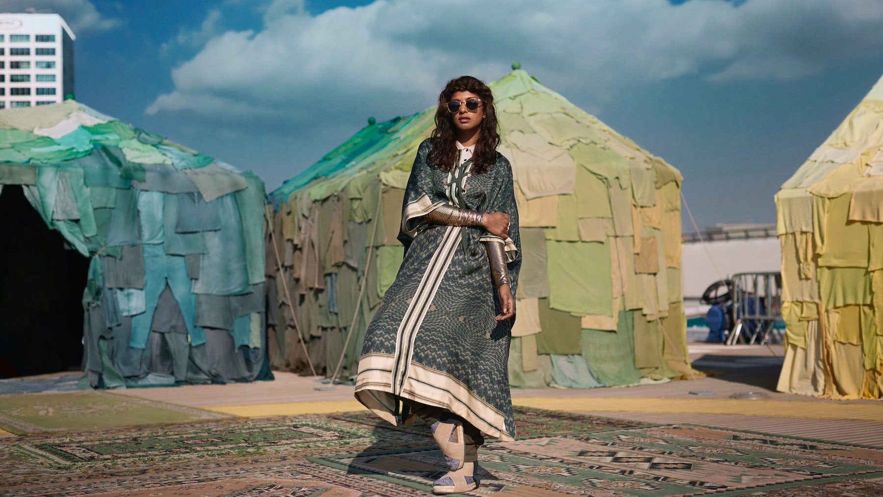 "M.I.A stars in ""Rewear It,"" the campaign video for H&M's World Recycle Week 2016 