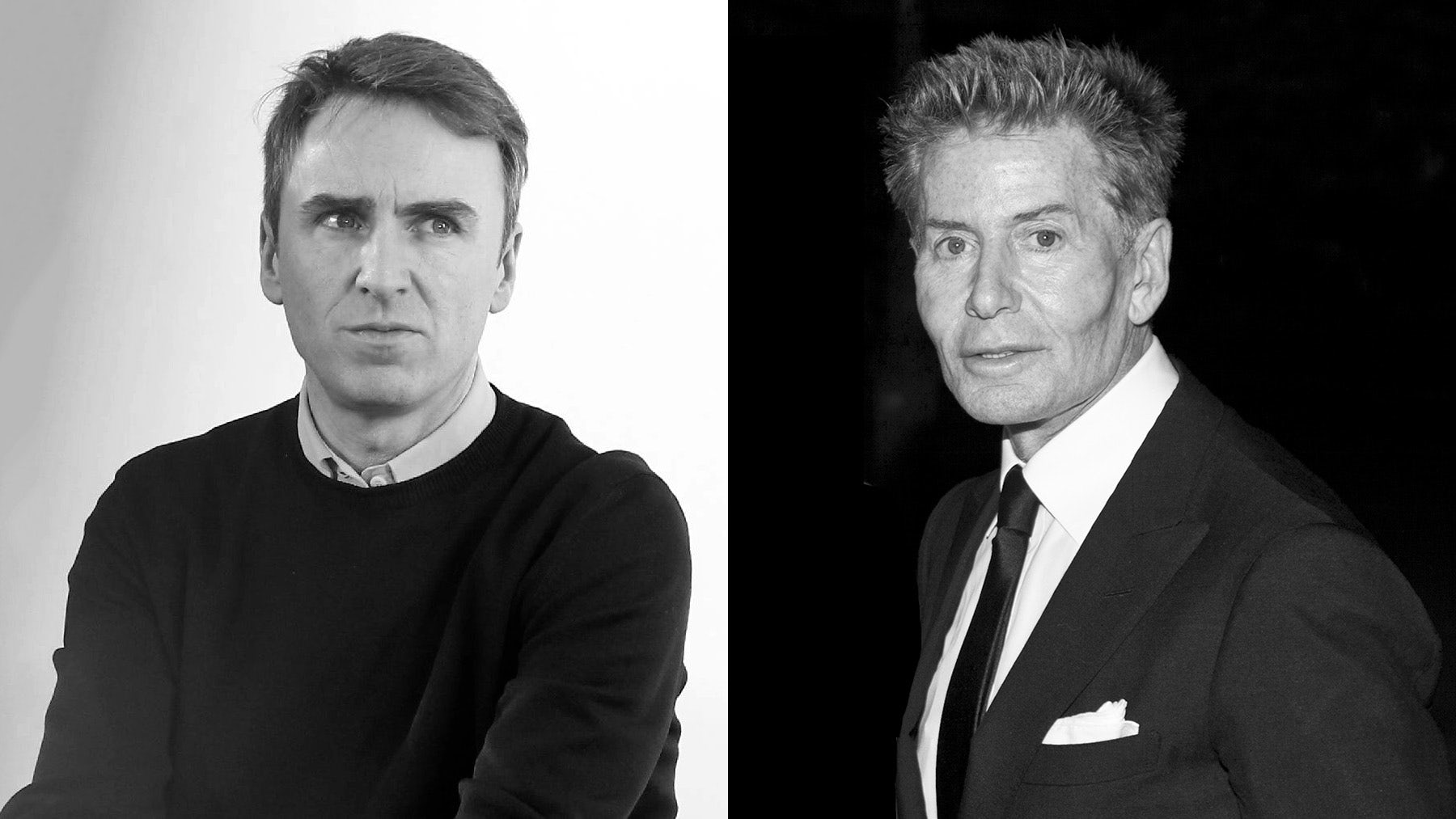 Raf Simons and Calvin Klein | Source: Courtesy/Wikimedia Commons