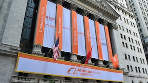 Alibaba on the New York Stock Exchange | Source: Shutterstock