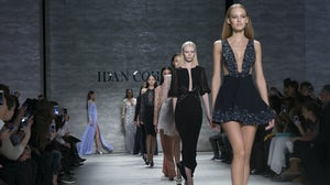 Models walk the runway at New York Fashion Week Autumn/Winter 2015 | Source: Shutterstock