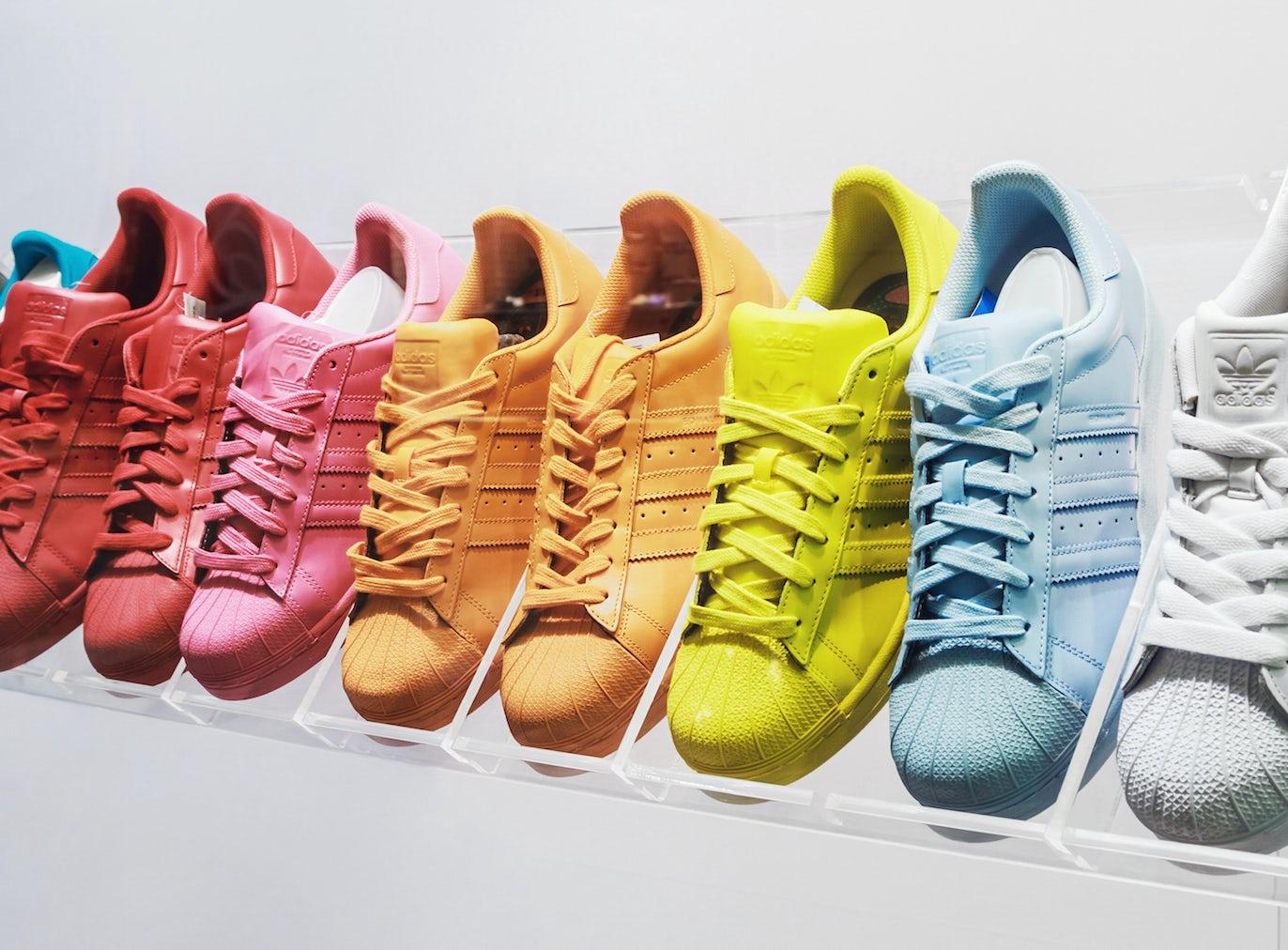 Adidas Superstar sneakers | Source: Shutterstock