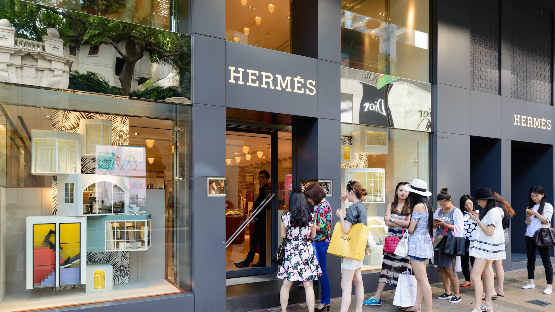 Hermès store, Hong Kong | Source: Shutterstock