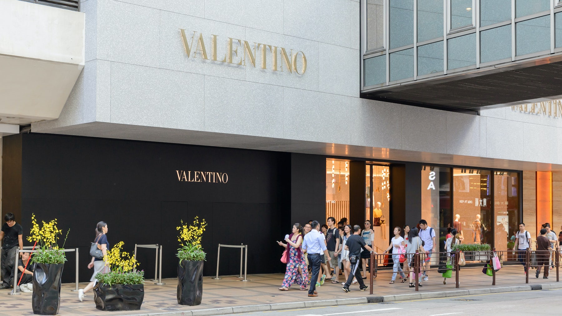 Valentino Says No Plan for IPO