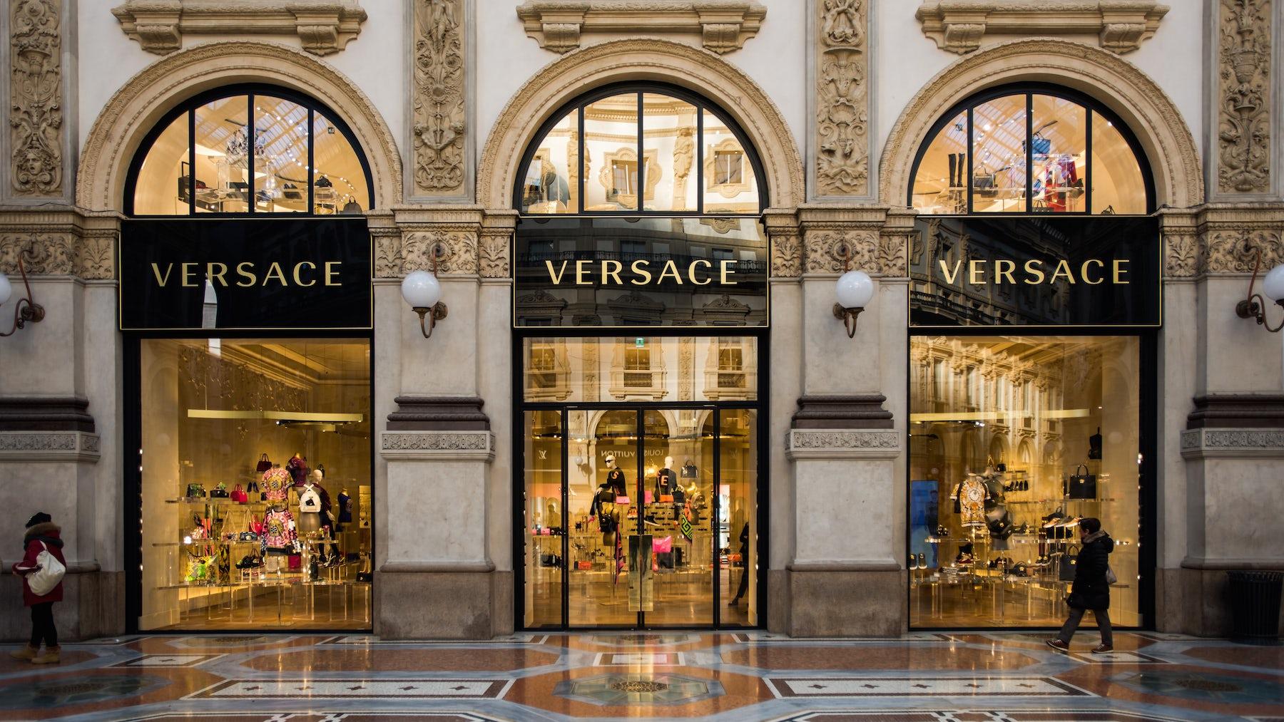 Versace store | Source: Shutterstock
