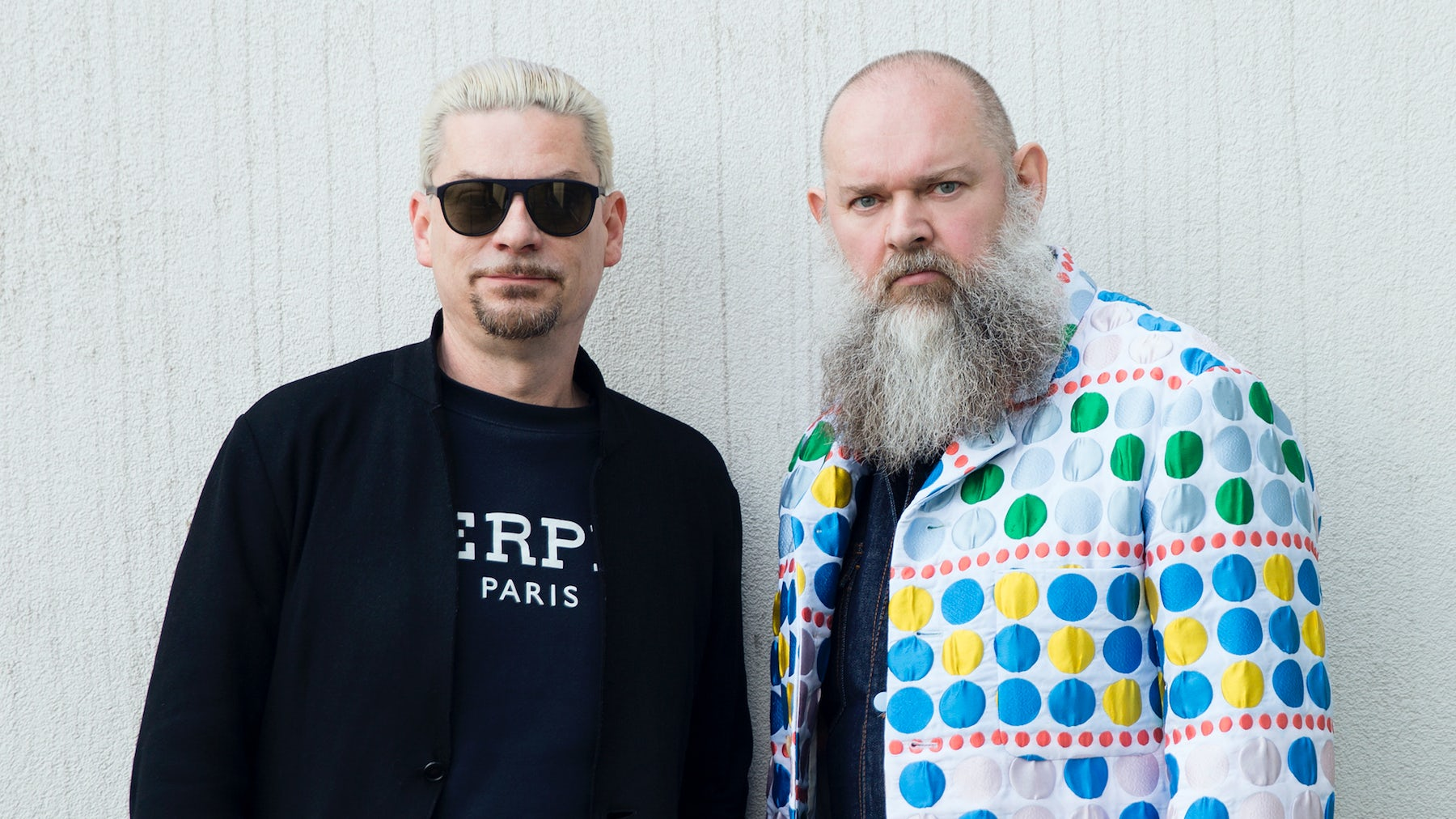 Tony Delcampe (L) and Walter van Beirendonck (R) | Photo: Dirk Alexander