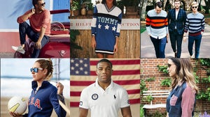 America-themed fashion by Gant, Polo Ralph Lauren and Tommy Hilfiger | Source: Instagram