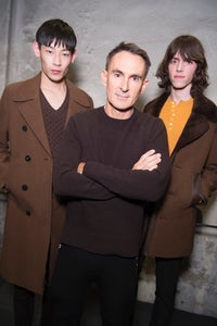 Neil Barrett with models at his Autumn/Winter 2016 menswear show | Source: Courtesy