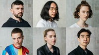 (Clockwise R-L) Sergiy Grechyshkin, Kota Gushiken, Imogen Wright, Philip Ellis, Joanna Melbourne and Susang Hwang   Image: Tuo Yi for BoF