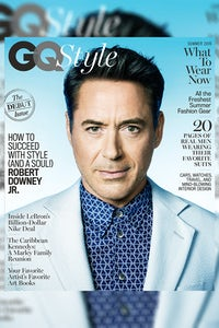Robert Downey Jr. on the cover of GQ Style's Summer 2016 issue | Source: Courtesy