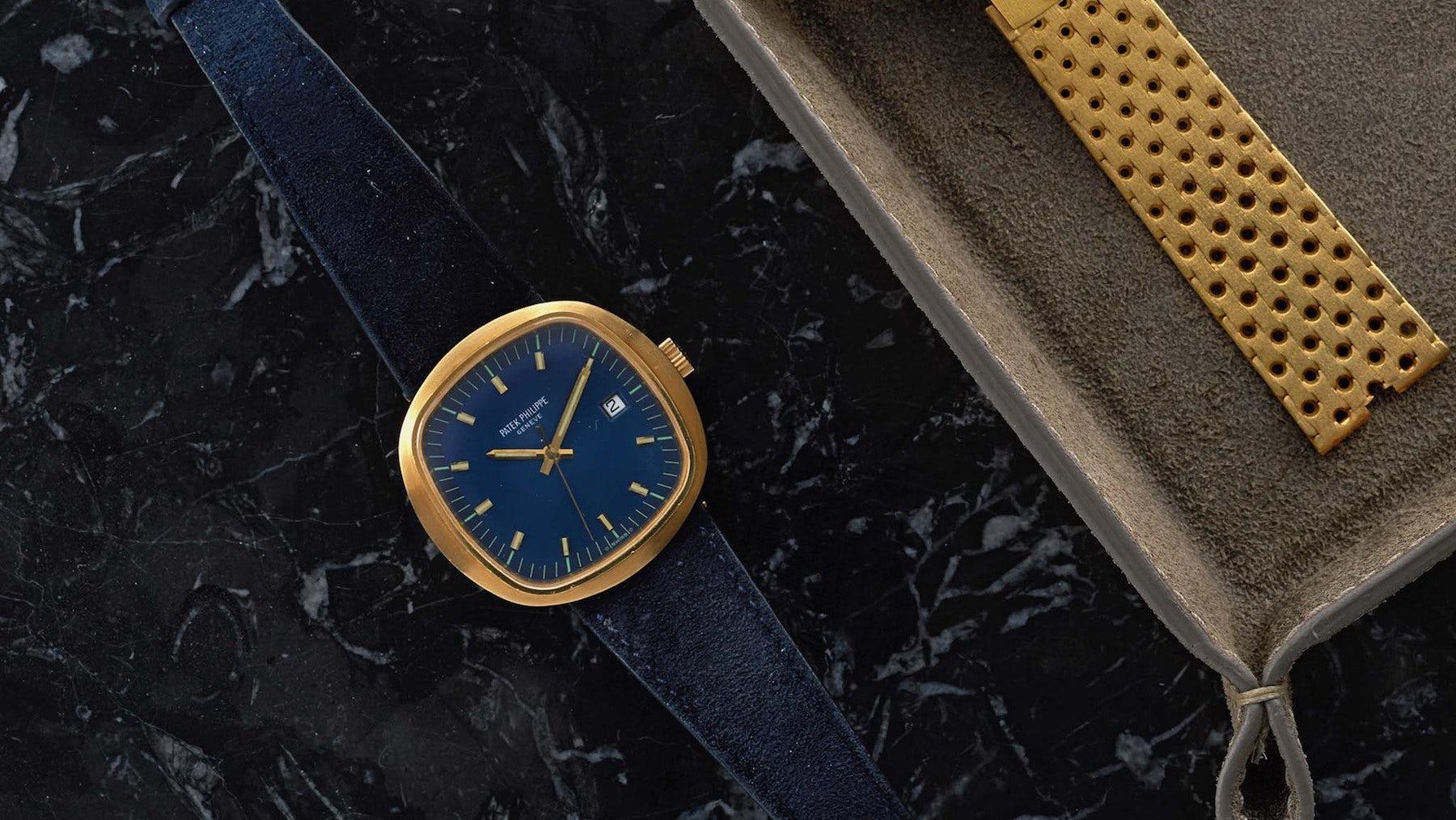 A vintage 1970s Patek Philippe watch | Source: Shop.Hodinkee.com
