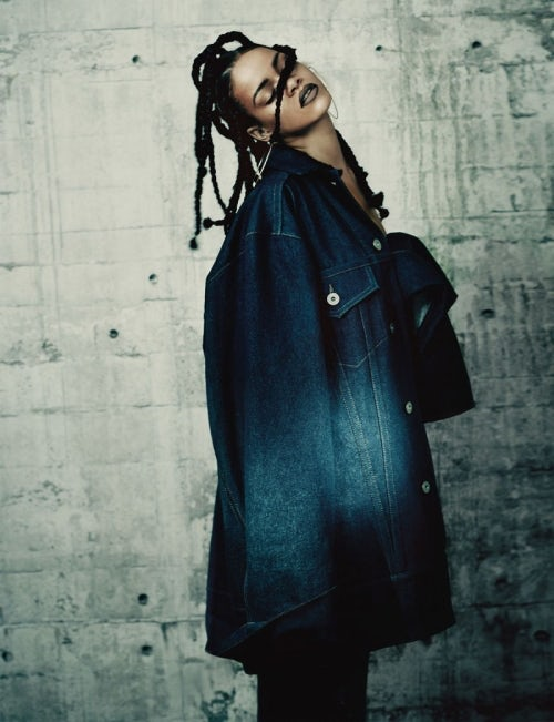 Rihanna styled by Alastair McKimm for i-D | Source: i-D
