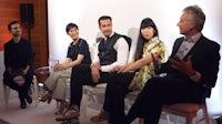 L-R: Imran Amed, Sandra Choi, Sebastian Manes, Susie Lau and Geoffroy de La Bourdonnaye | Source: Courtesy