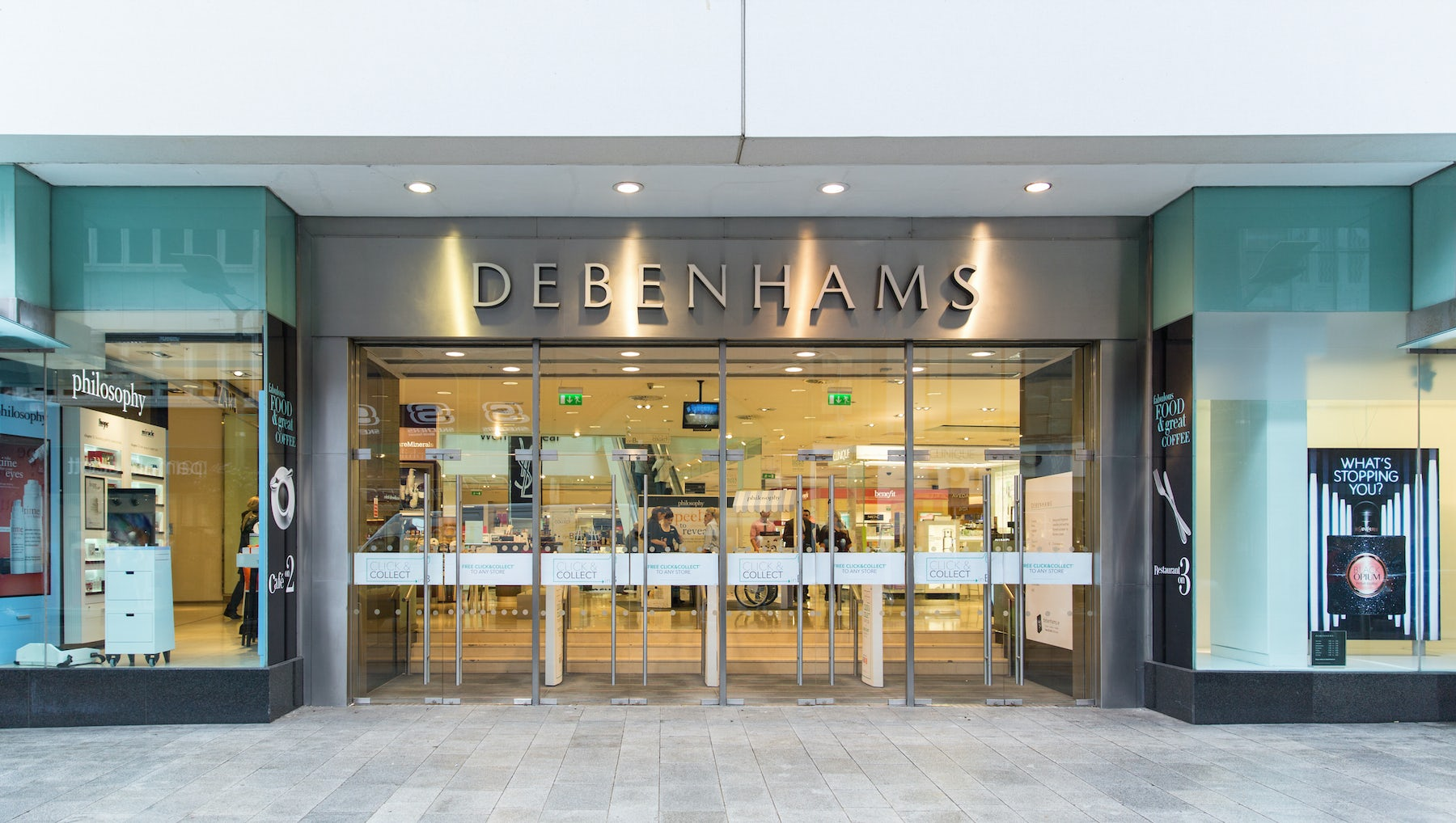 Debenhams to Close 22 Stores Next Year, Threatening 1,200 Jobs