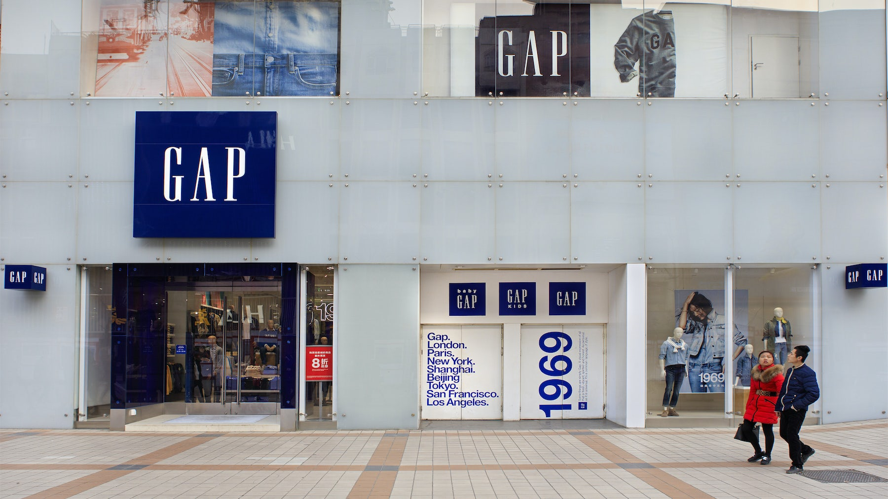 Gap Shares Slide After Same-Store Sales Disappoint