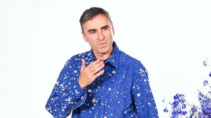 Raf Simons takes his final bow at Dior's Spring/Summer 2016 show   Source: Shutterstock