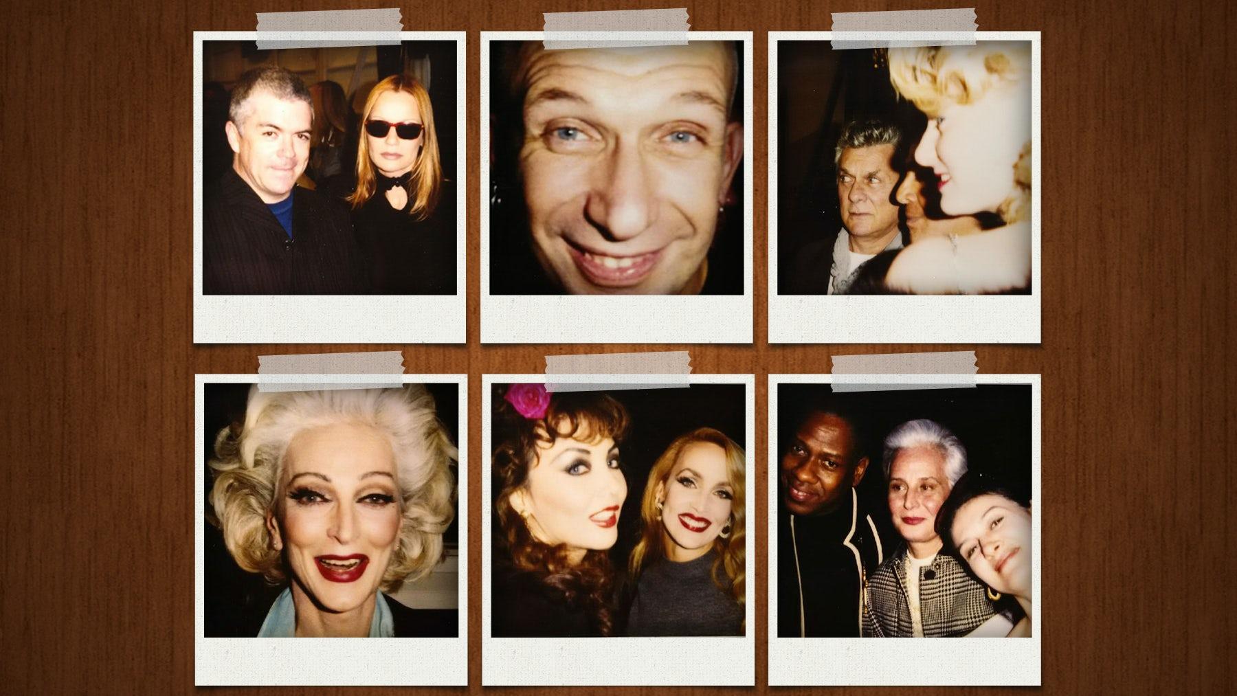Article cover of Inside Tim Blanks' Box of '90s Polaroids