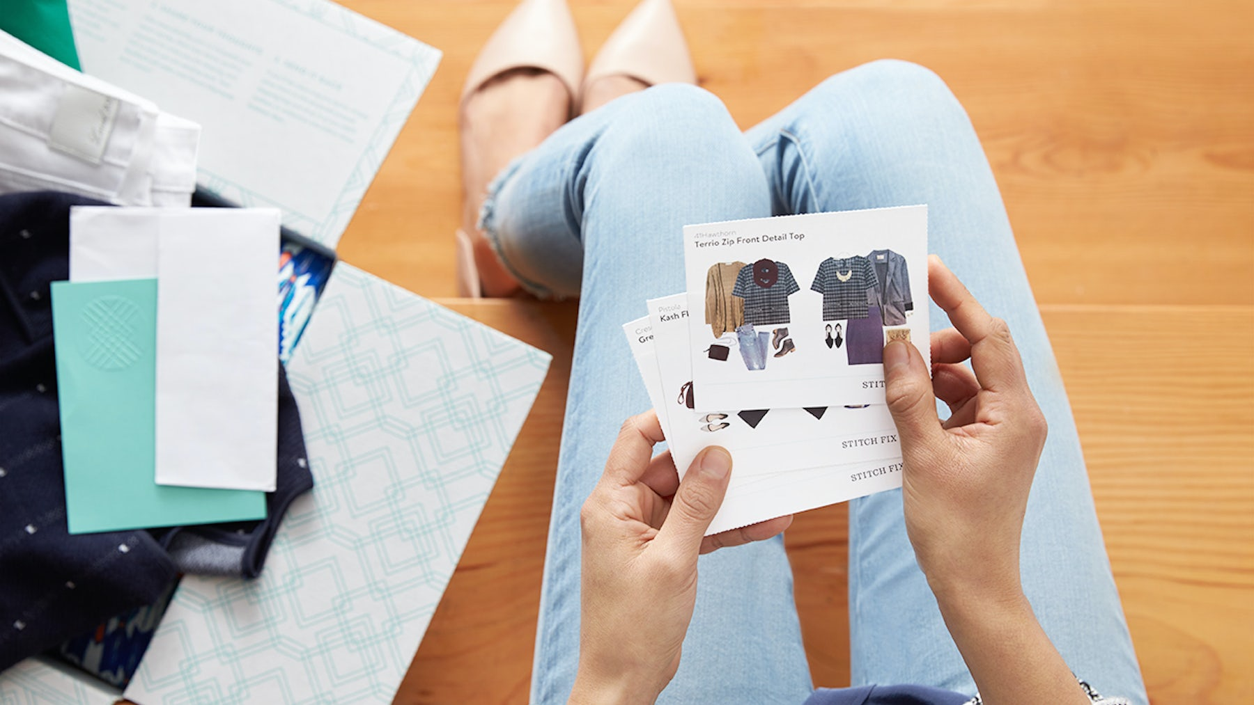 Stitch Fix offers a data-driven personal styling service | Source: Courtesy