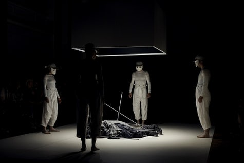 """Aitor Throup """"The Rite of Spring/Summer/Autumn/Winter"""" presentation 
