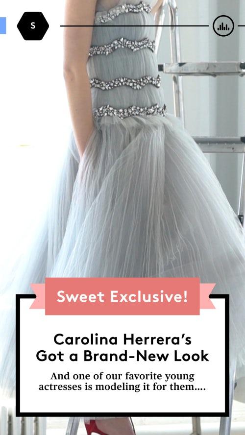 A look from Carolina Herrera's Sweet activation. Photo: Courtesy
