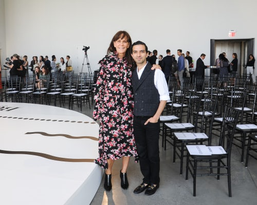 Julie Gilhart and Imran Amed | Source: BFA
