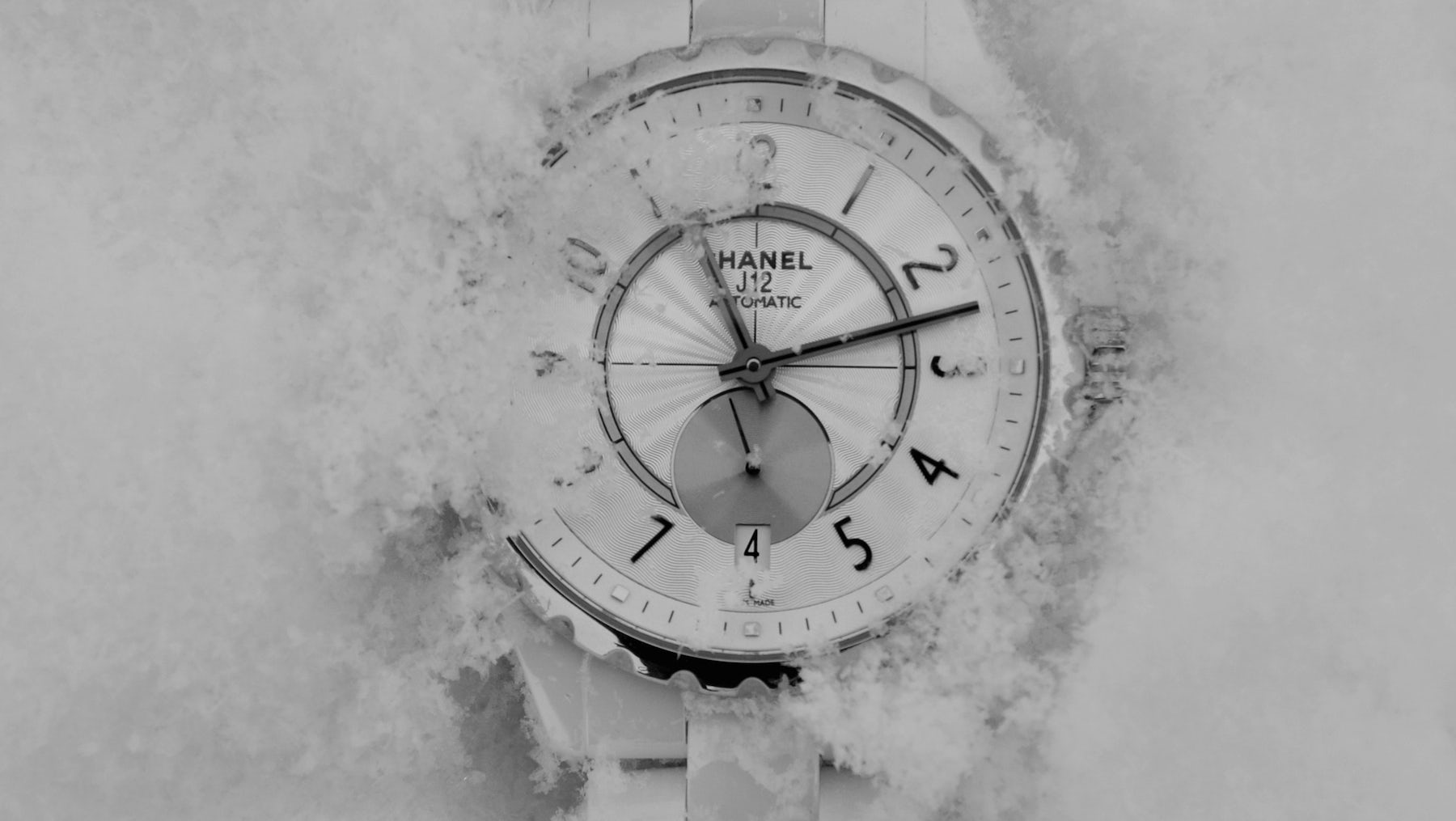Chanel J12 watch in white | Source: Chanel