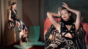 Alexander McQueen Spring/Summer 2015 campaign | Source: Alexander McQueen