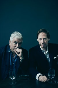 Tim Blanks and Nick Knight | Photo: Benjamin McMahon for BoF