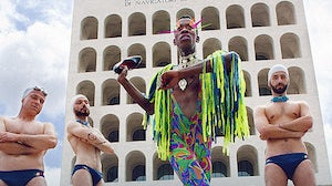 Roma Pride's flyers feature Fendi's headquarters as a backdrop | Photo: Jessica Guidi