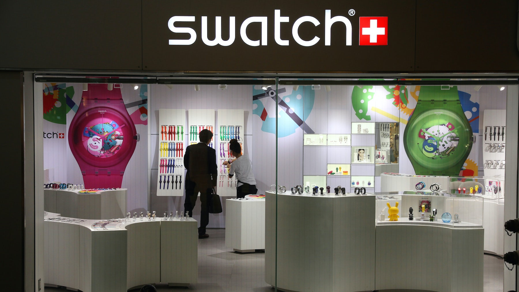 Swatch store | Source: Shutterstock