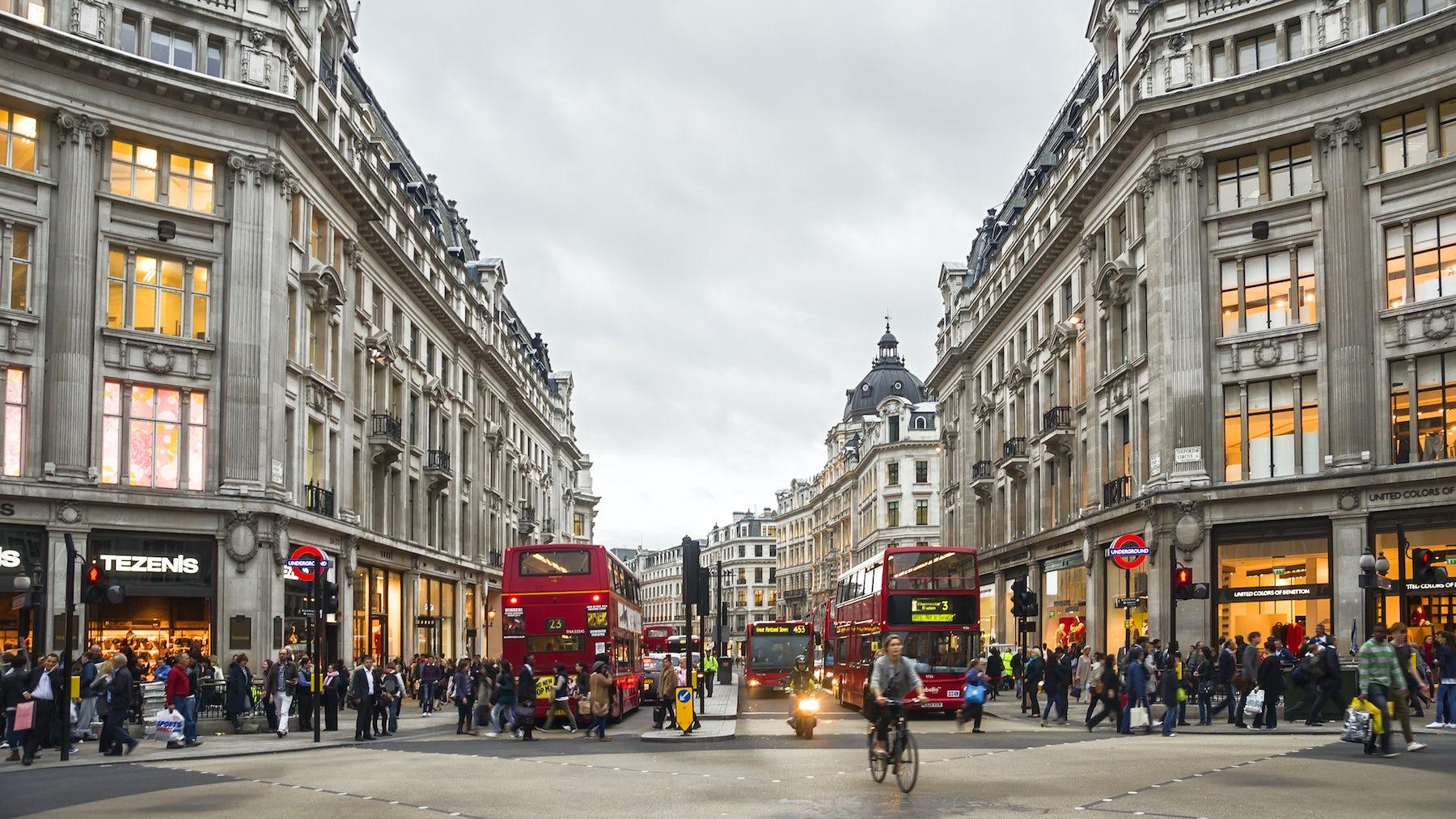 Oxford Circus London   Source: Shutterstock