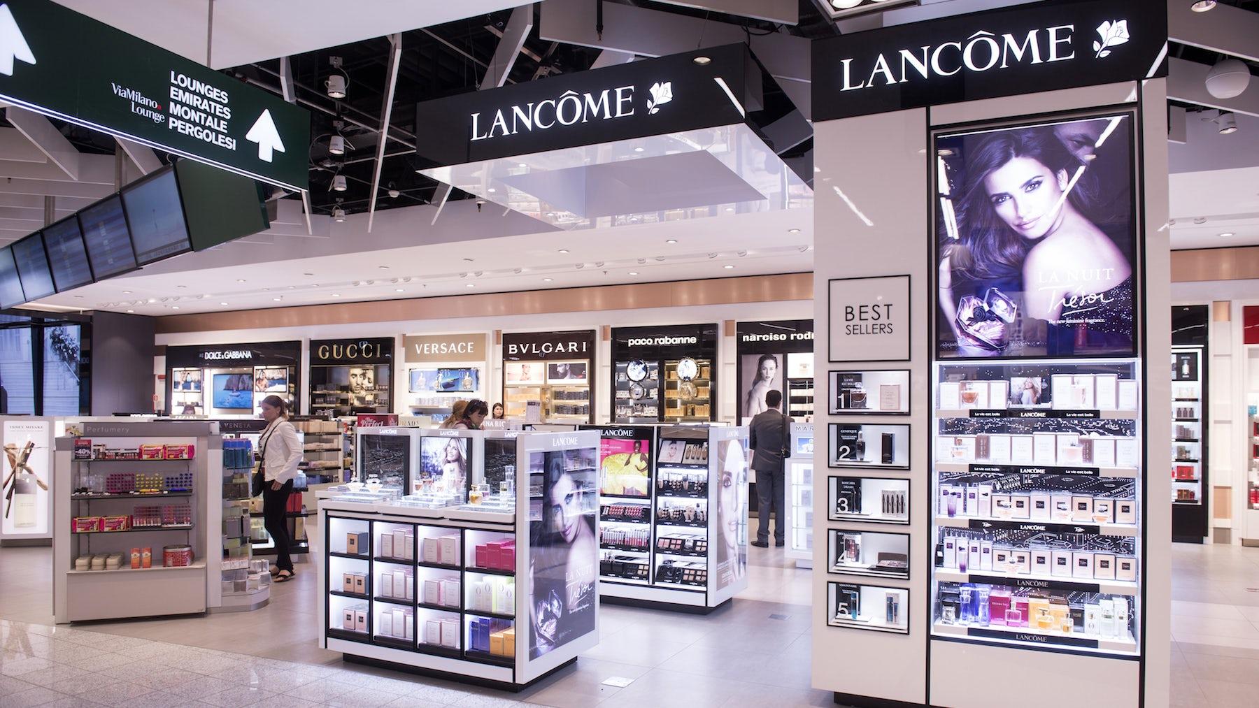 Lancôme booth | Source: Shutterstock