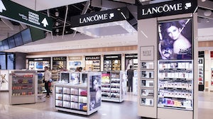 L'Oréal-owned Lancôme booth | Source: Shutterstock