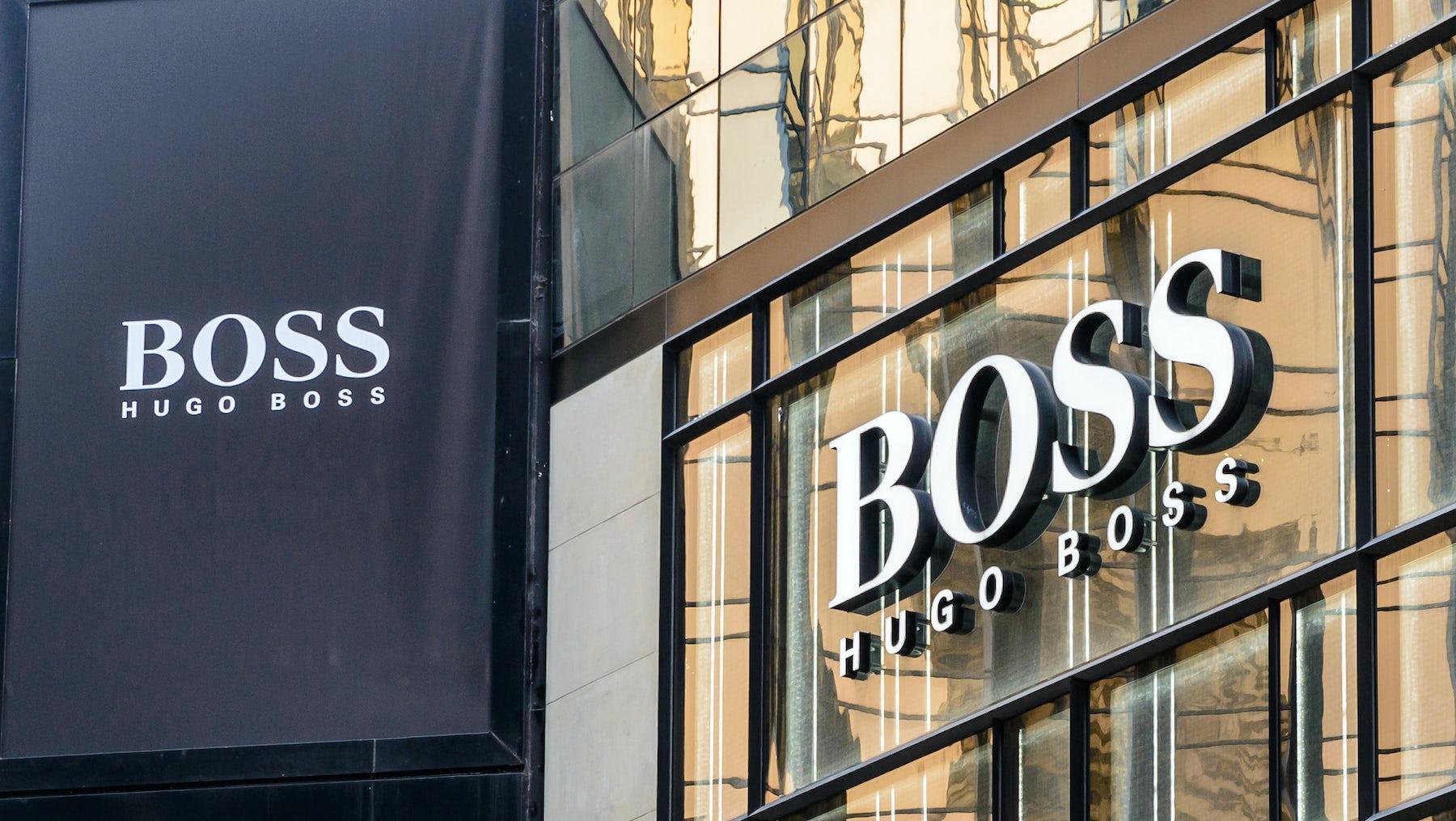 Hugo Boss store   Source: Shutterstock
