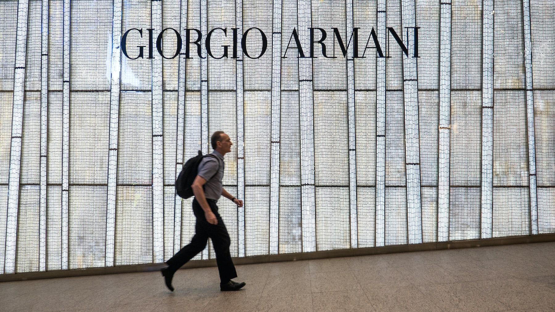 Armani store   Source: Shutterstock