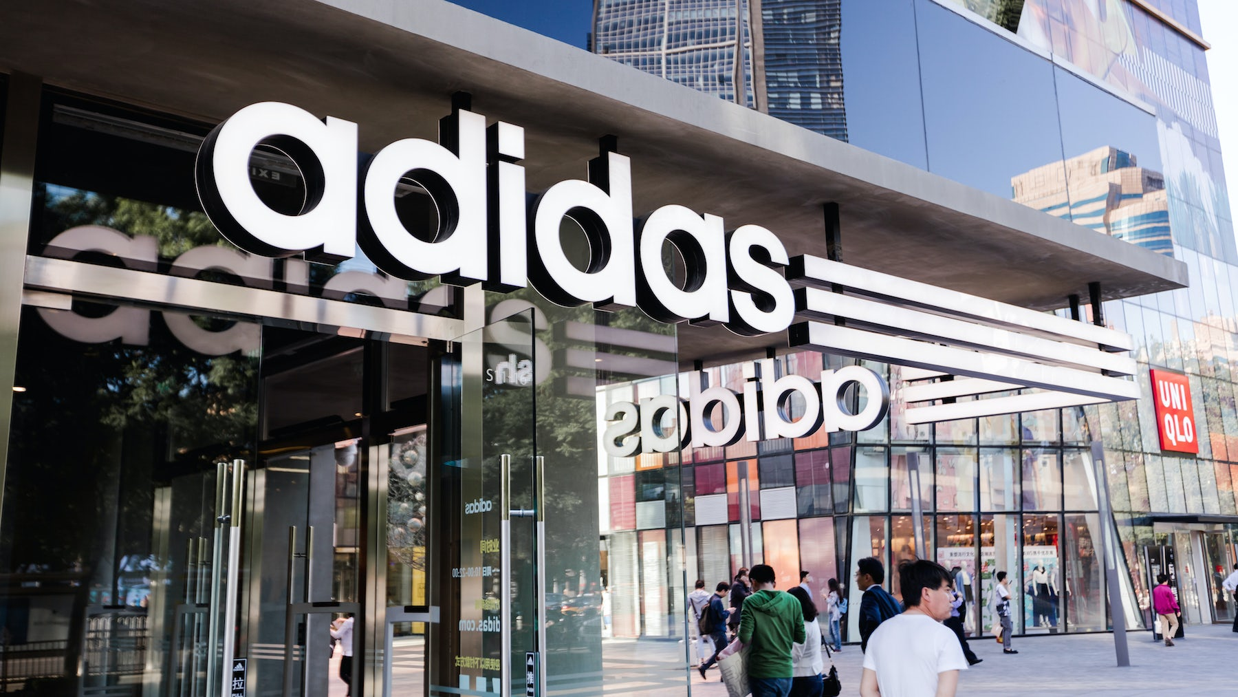 Shares in Adidas Slip As It Pays to Fix Sourcing Shortages