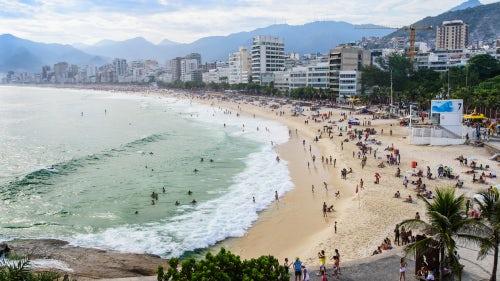 Ipanema beach, Rio de Janeiro | Source: Shutterstock