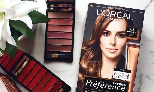 L'Oréal products   Source: Courtesy