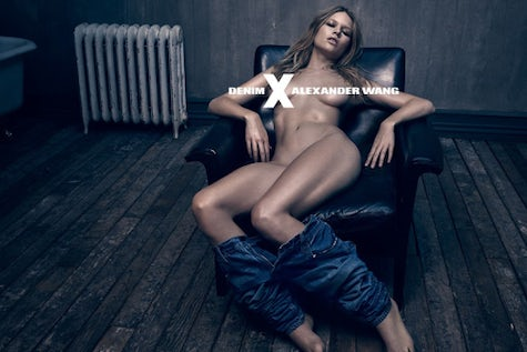 Alexander Wang Denim Spring/Summer 2015 with Anna Ewers | Source: Alexander Wang