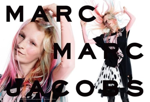 Marc by Marc Jacobs Spring/Summer 2015 cast via Instagram | Source: Marc by Marc Jacobs