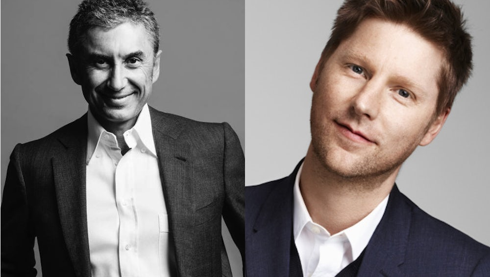 Marco Gobbetti, Christopher Bailey | Source: LVMH/Courtesy