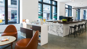 'Cadillac House', the car brand's retail space, features a coffee shop and art gallery   Source: Gensler